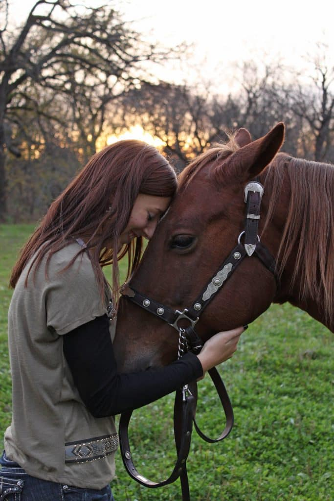 her horse will be her best friend