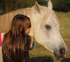 your daughter's horse will always be there for her