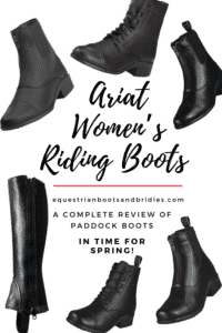 Ariat Women's Riding Boots – A Complete Review of Paddock Boots