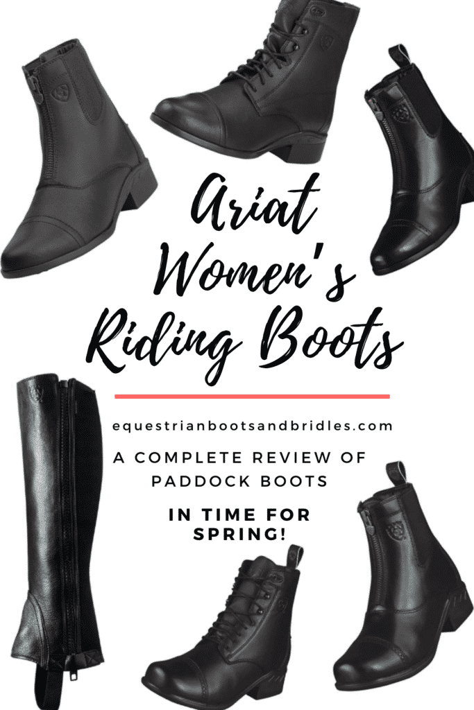 best ariat paddock boots - ariat womens riding boots