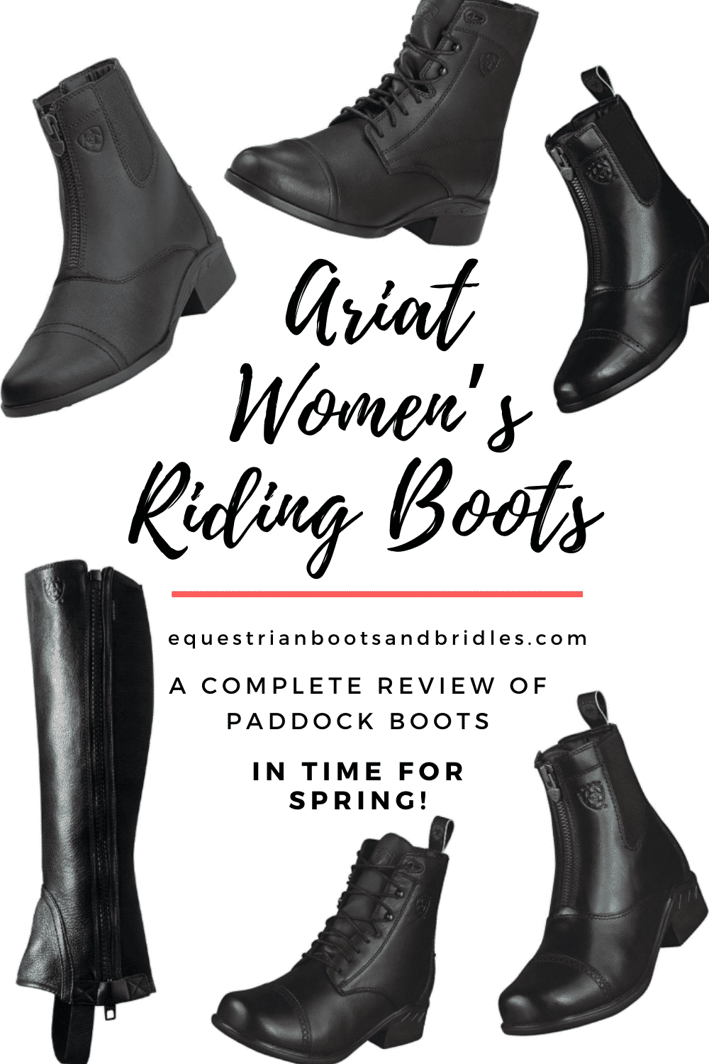 Ariat Women's Riding Boots - A Complete Review of Paddock Boots
