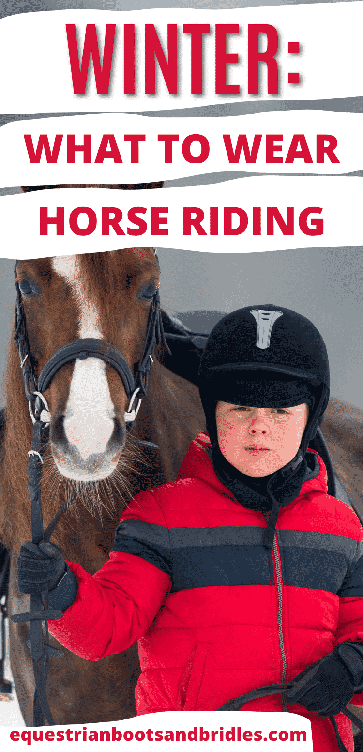What to Wear Horseback Riding in Winter