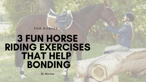 3 Fun Horse Riding Exercises for Bonding with a Horse 6