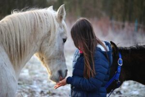 The colder it is the more layers youll need for horseback riding