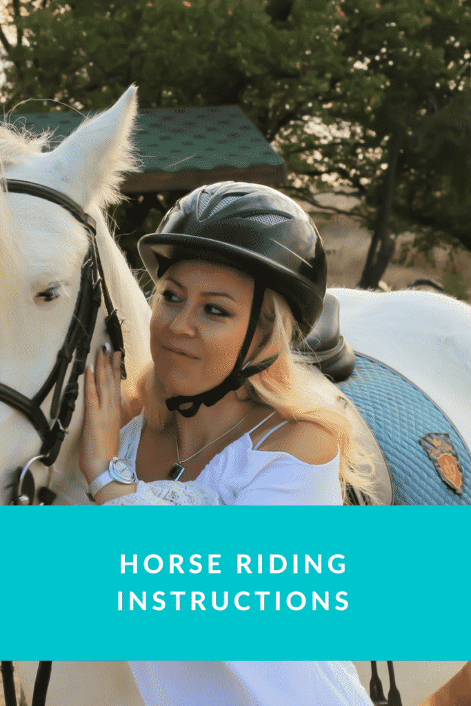 Horse Riding Instructions