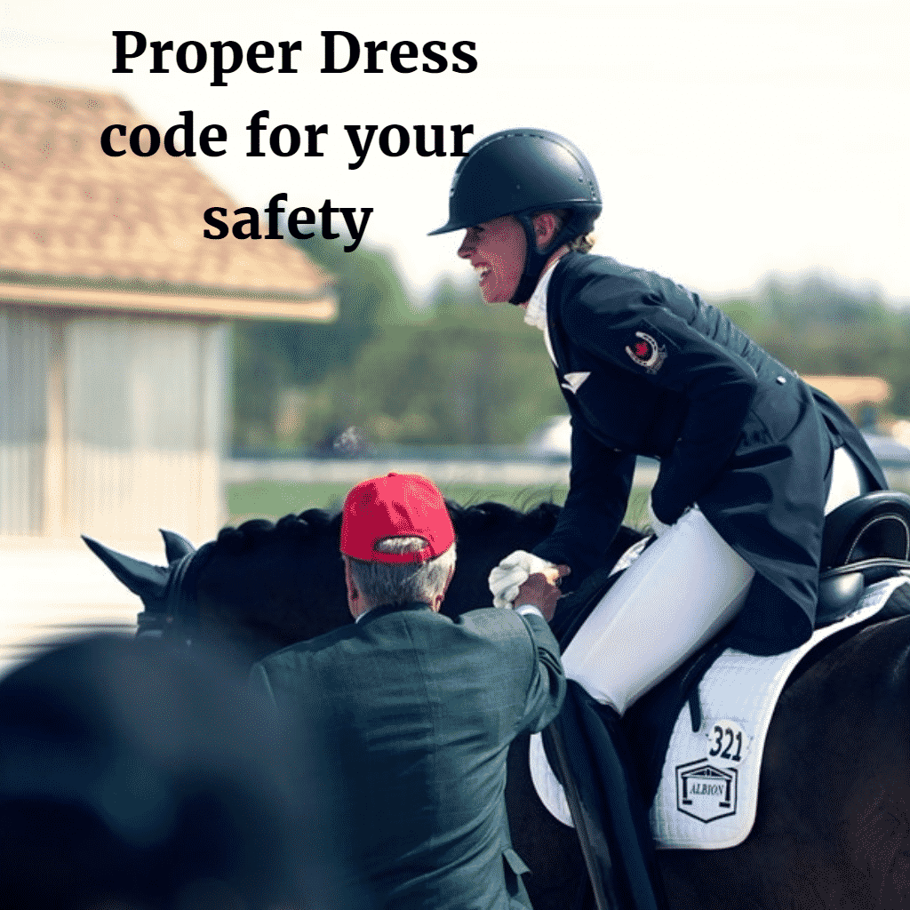 Proper Dress code for your safety
