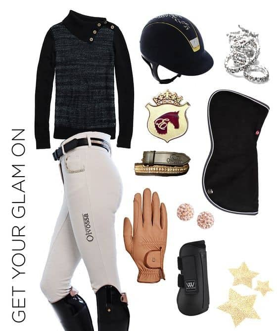 "Equestrian Wear - ""Get Your Glam On"" for 55% Less"