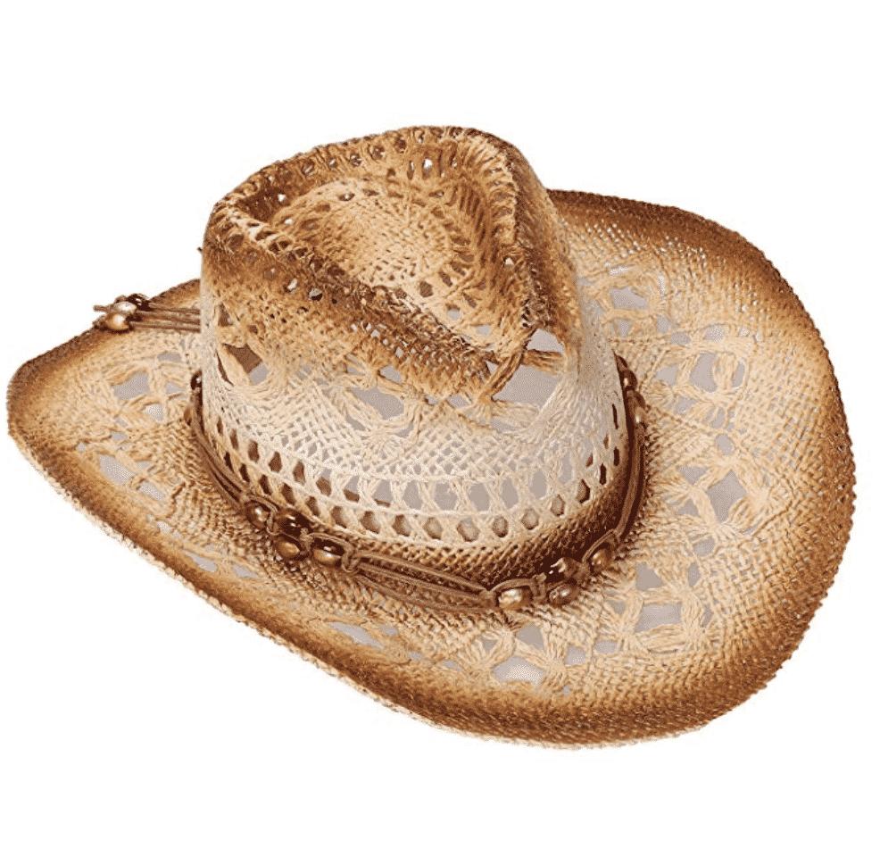 Western unisex straw hat
