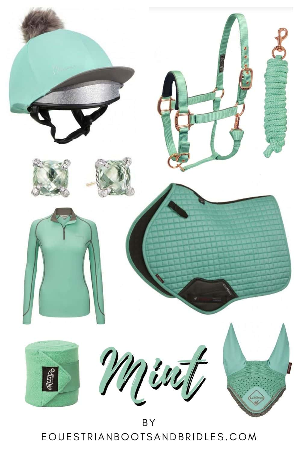 Horseback Riding Outfit Ideas - Mint Green & Gorgeous