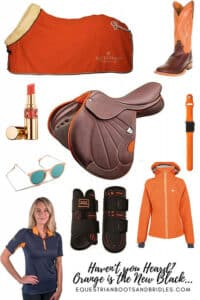 Fierce Equestrian Wear - Tangerine Themed Horse Riding Clothing