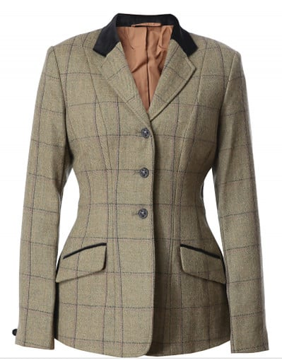 High End Horse Riding Clothes - Equetech Tweed Showjumping Jacket