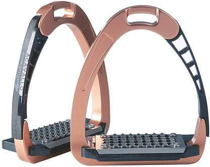 Rose Gold & Glamorous - Italian Horse Riding Stirrups