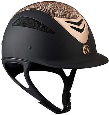 Cute Horseback Riding Outfit - Sparkly horse riding helmet