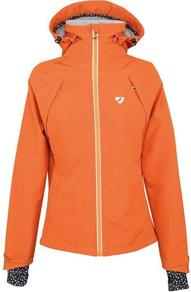 equestrian apparel - Orange Light Softshell Jacket