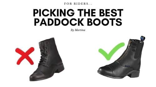 Picking the Best Paddock Boots