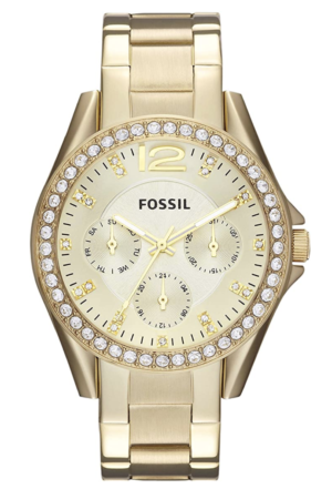 Fossil Riley Gold Watch