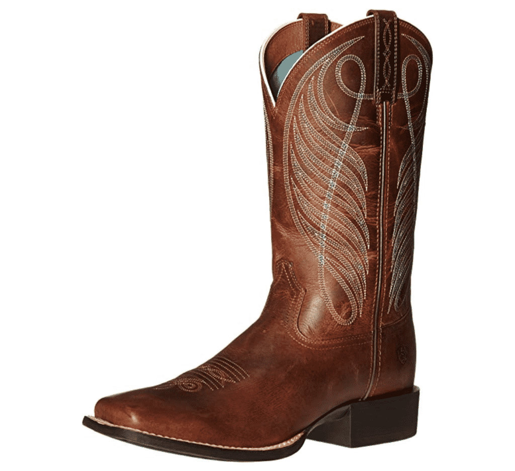 ariat cowboy boots - Ariat Round Up Square Toe Boot