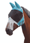 Shires Turquoise Fly Mask