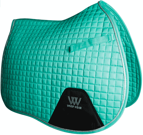 Woof Wear Saddle Pad in Mint