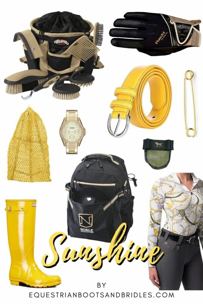 Horseback Riding Outfits - Sunshine Yellow Ideas