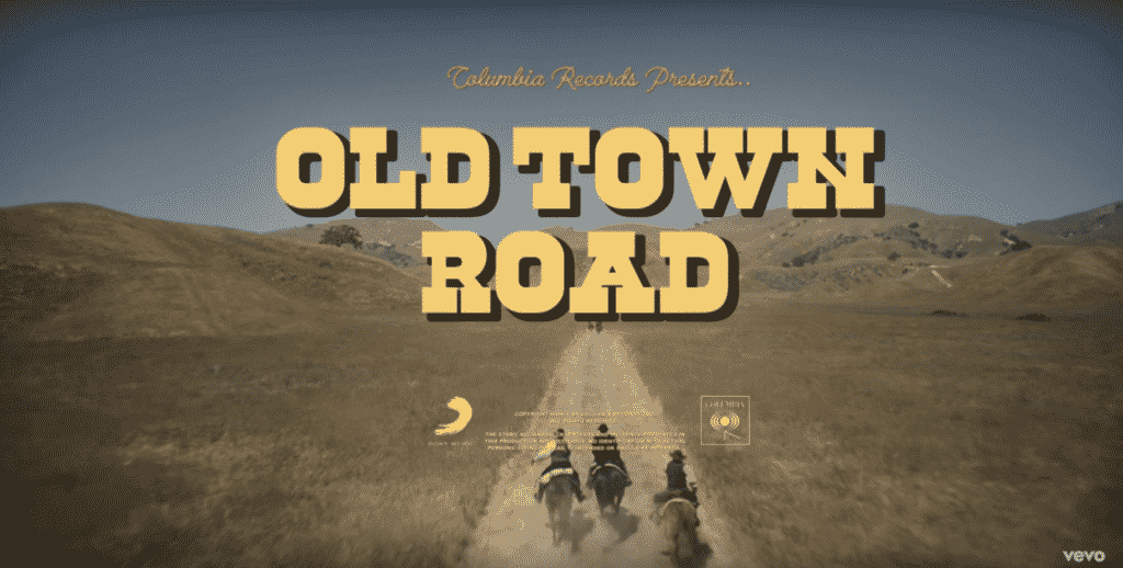Songs about horses: old town road