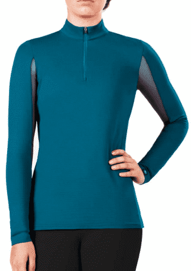 Winter Horse Riding Clothes: Irideon Cooldown Icefil Long Sleeve Jersey