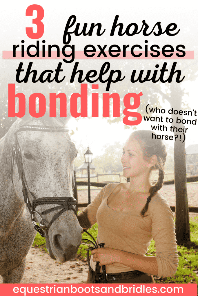 3 Fun Horse Riding Exercises for Bonding with a Horse 8
