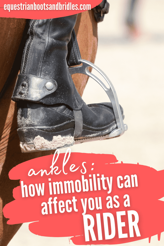 English Riding Tips on Ankle Mobility, Heels Down! 9