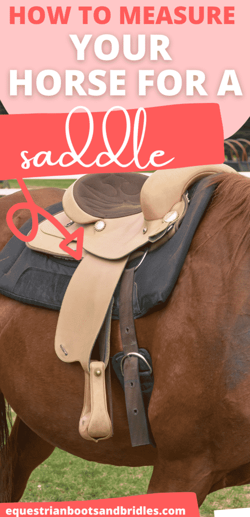 How to Measure for A Saddle 5