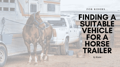 Finding a Suitable Vehicle for a Horse Trailer