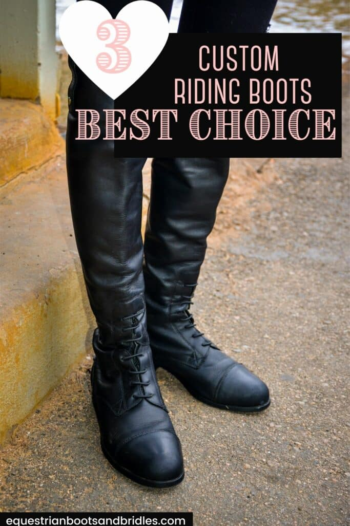 Custom riding boots on Pinterest. Check out our read on our favourite boots and why!
