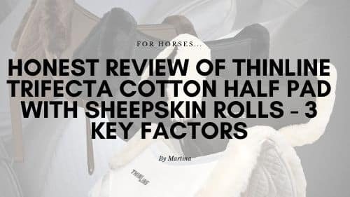 Honest Review of ThinLine Trifecta Cotton Half Pad with Sheepskin Rolls - 3 Key Factors 1