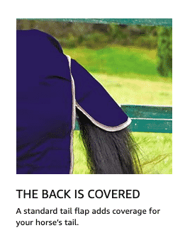 Horse Blanket With Flap Back