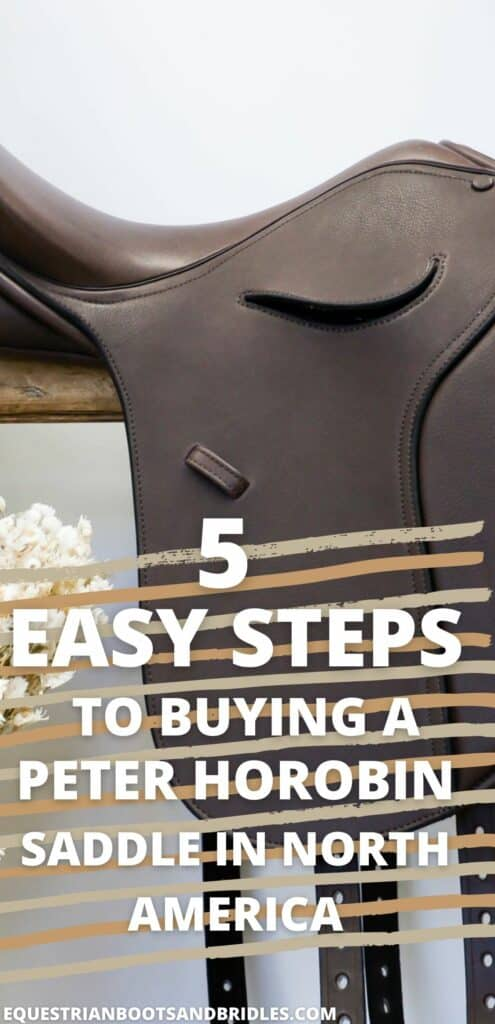 5 Easy Steps to Buying a Peter Horobin Saddle in North America 11