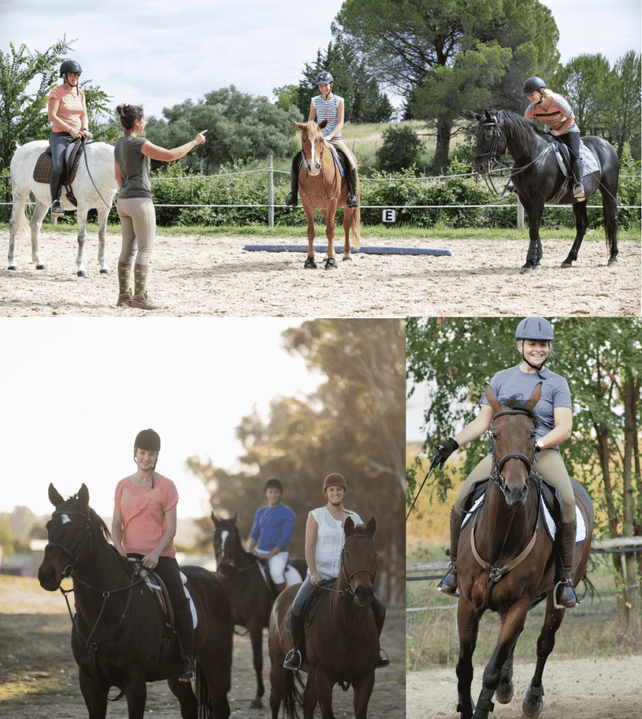 Discover How Beginner Riders Are Accelerating Their Riding Progress In Group Lessons… No Matter What Horse They're On 1